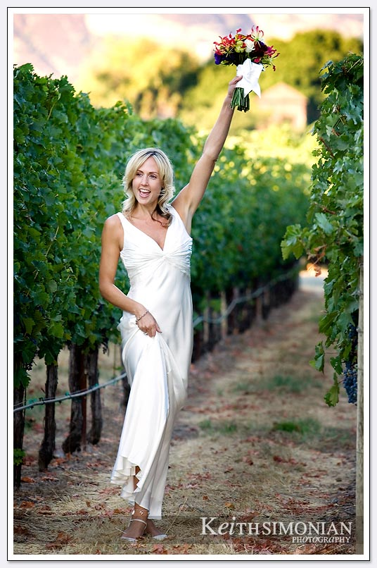 Wine growing and weddings are part of what the Napa Valley is famous for