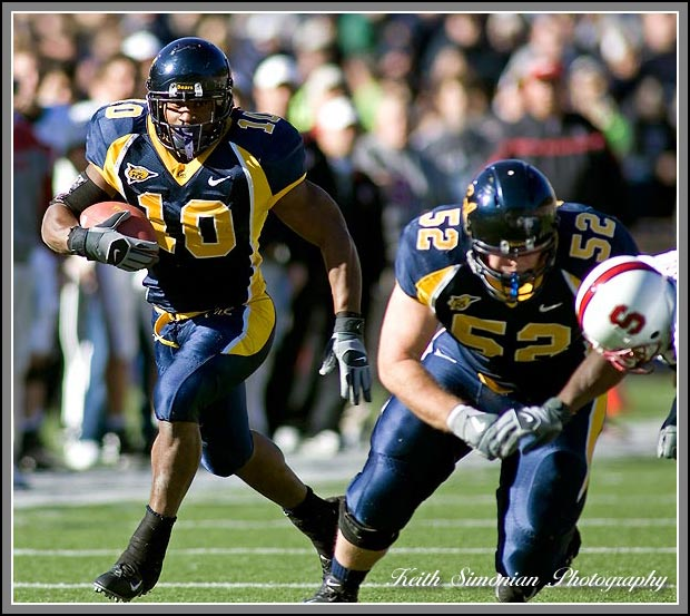 Marshawn Lynch of the California Golden Bears Football team.