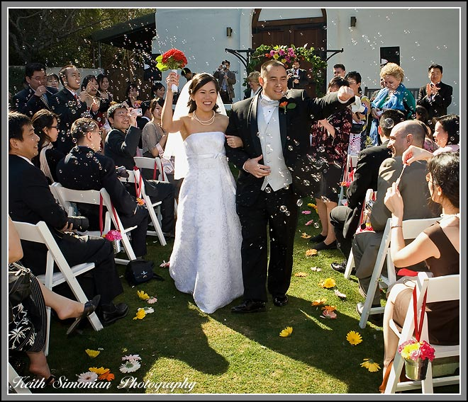 Wente Vineyards wedding ceremony