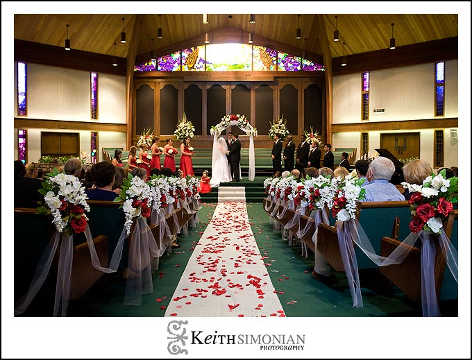 Healdsburg, CA - Rio Lindo Adventist Church wedding ceremony