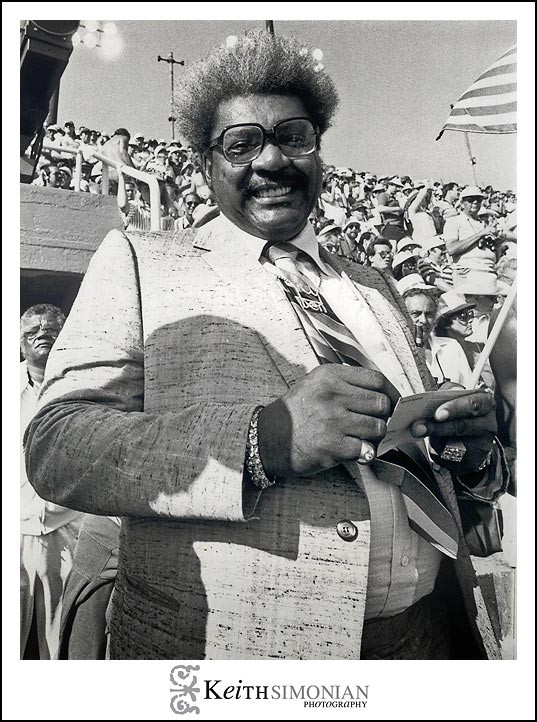 Don King at the 1984 Summer Olympics