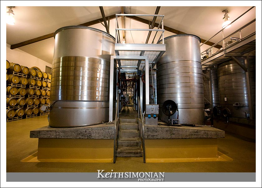 Where the wine is made at ZD Wines