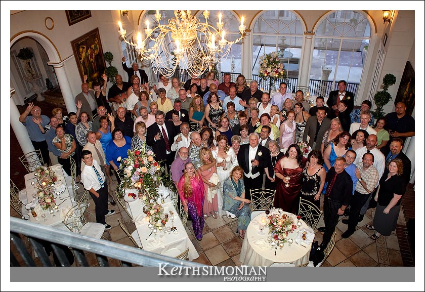 Gail, Rodney, and all their guests take a monent for a group shot.