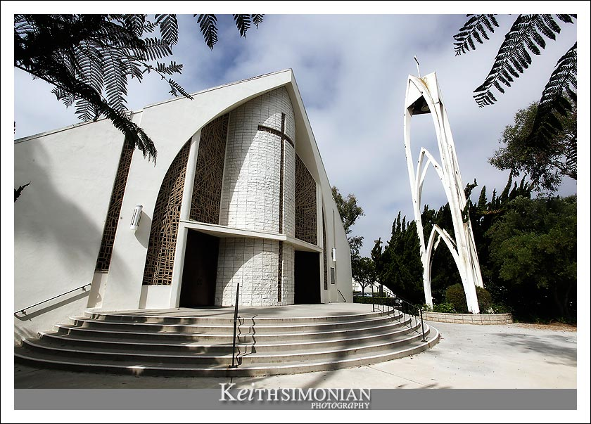 Our Lady Queen of Angels church - Newport Beach