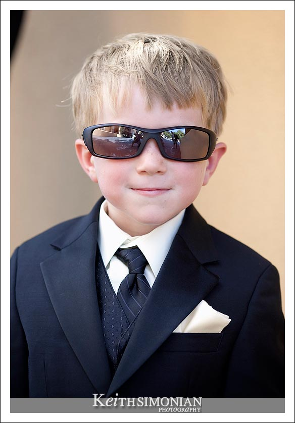Joe Cool - the Groom's nephew