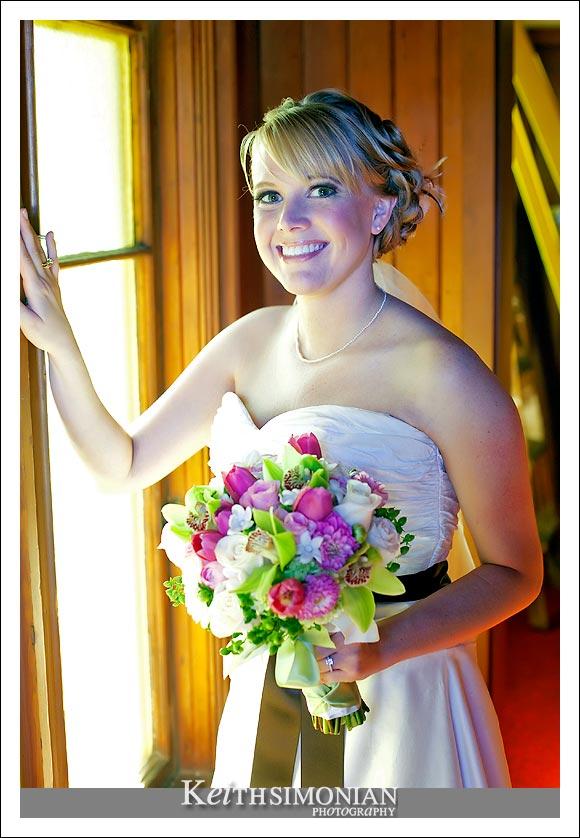 Bridal portrait of Amanda