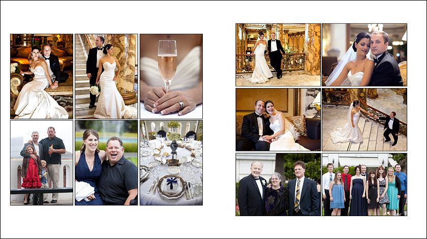 Wedding Ring - Champagne and diamonds - Guests - Portraits