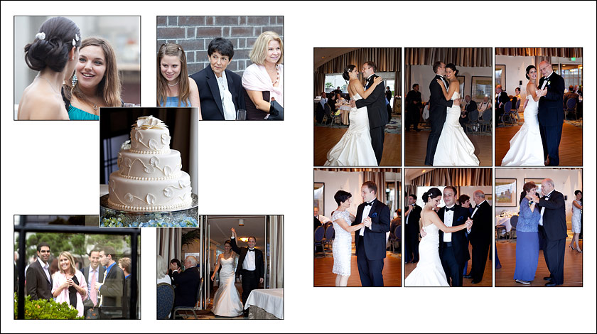 Wedding Cake - first dance - parents of bride and groom