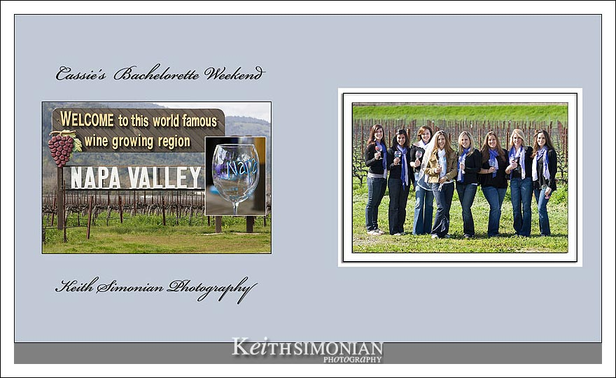 Napa Valley Sign - Bachelorette Girls