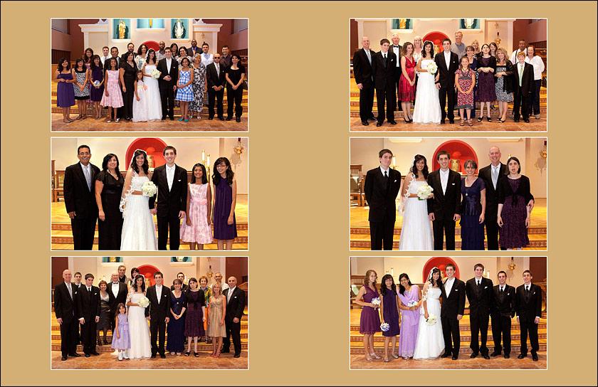 Formal family portraits