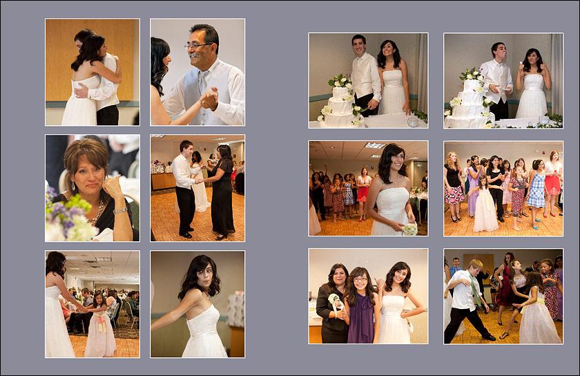 First dance - cake cutting - bouquet toss