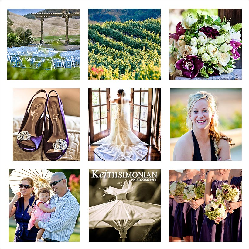 Shoes, guests, Bride in posing in window, bouquet, vineyards, umbrella