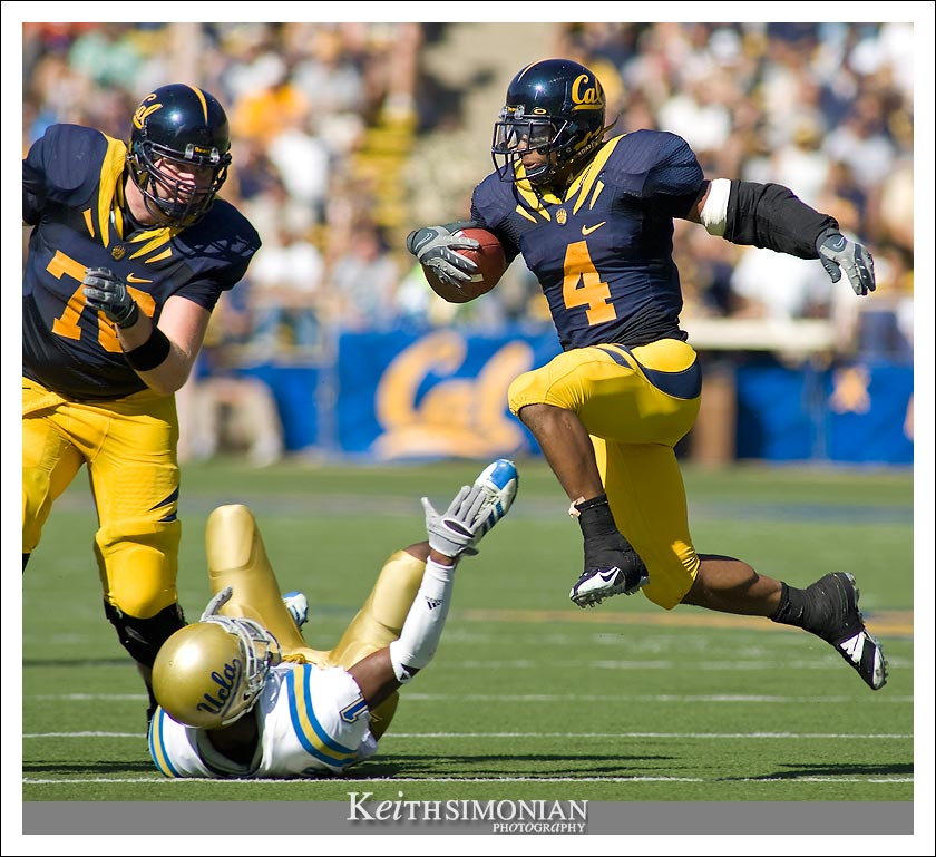 First round draft pick Jahvid Best of the California Golden Bears photo