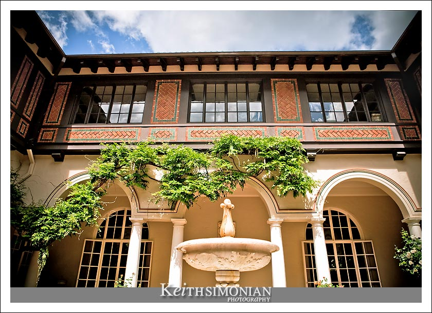 Built in 1912 Villa Montalvo is a historic landmark