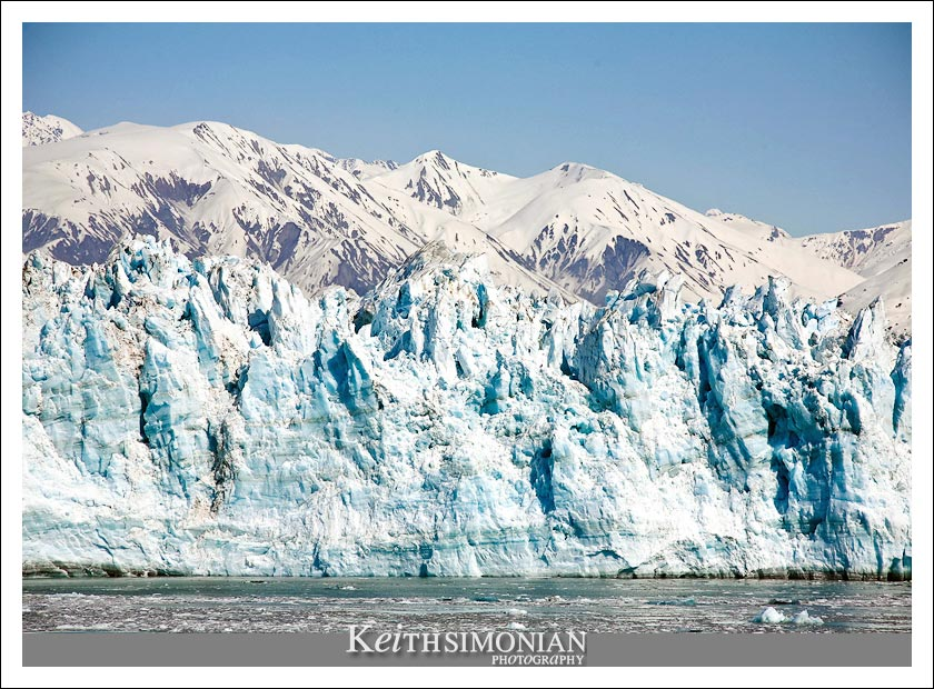 View of the Hubbard glacier from the Radiance of the Seas - Royal Caribben International Cruise line
