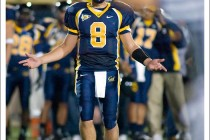 Aaron Rodgers of the California Golden Bears in a game against UCLA - 2004 Berkely CA