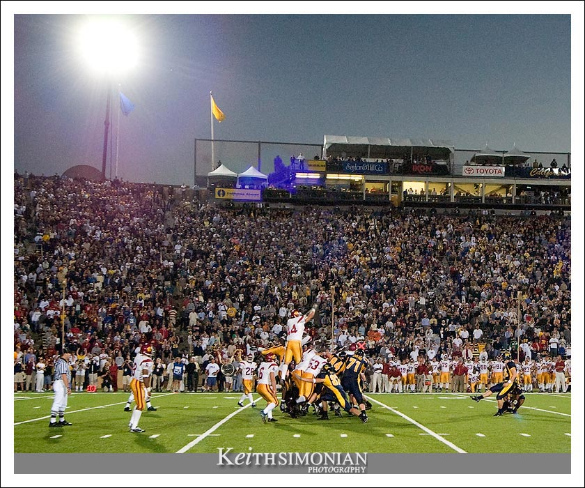 Tyler Fredrickson makes the game winning Field Goal - CAL vs USC - September 27, 2003 Memorial Stadium - Berkeley, CA