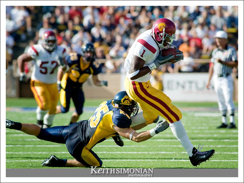 USC wide receiver Mike Williams #1 - CAL vs USC - September 27, 2003 Memorial Stadium - Berkeley, CA