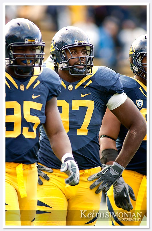 Cal's Cameron Jordon #97 was selected 24th overall in the 2011 NFL draft by the New Orleans Saints