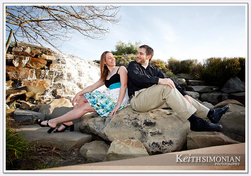 San Ramon engagement Photo at Bollinger Canyon Waterfall-05