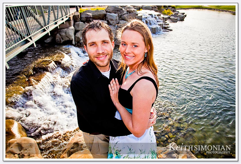 San Ramon engagement Photo at Bollinger Canyon Waterfall-06