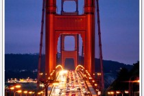 Golden Gate Bridge Rush Hour