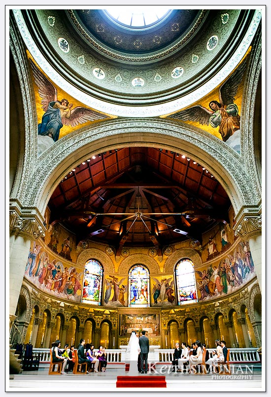Interior view of Stanford Memorial Church