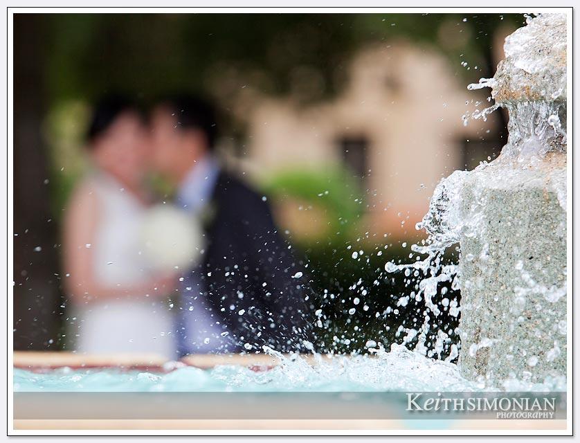 Water fountain Stanford University - Palo Alto, CA