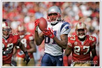 Randy Moss #81 66 yard touchtown catch