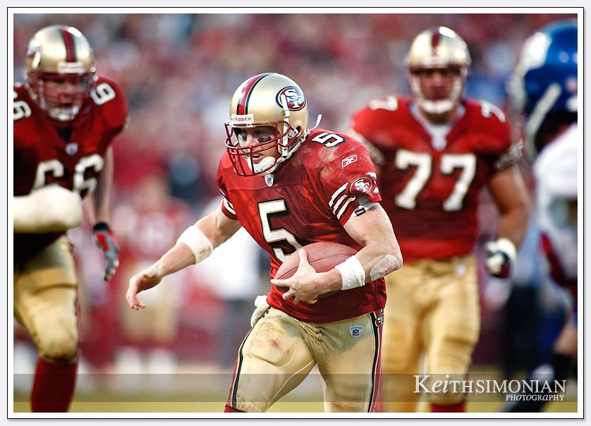 #5 San Francisco 49er QB Jeff Garcia