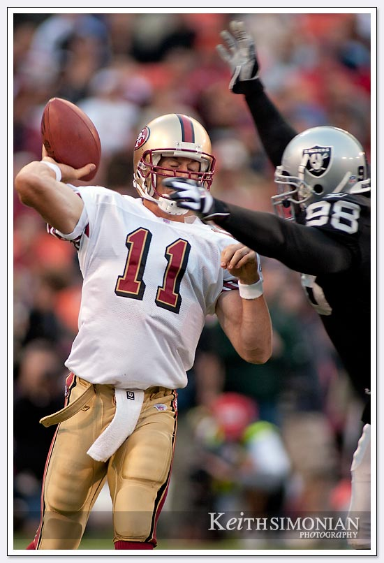 49ers vs Raiders 2005