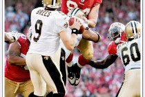 Pass rush by 49er Justin Smith