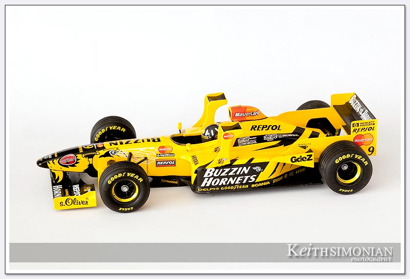 1998 Jordan Mugen Honda 1/18 scale model photo