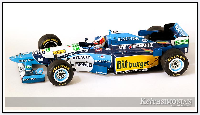 Photo of b195 Benetton with bitburger livery