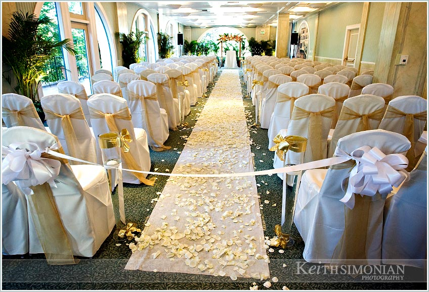 ... Garden Court Hotel In Palo Alto, California Will Forever Remind You Of  Your Wedding Day. Lights And Stairways At Night Photo Showing The Aisle  Covered ... Nice Design