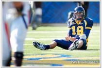 Cal quarterback Joe Ayoob #18 photo