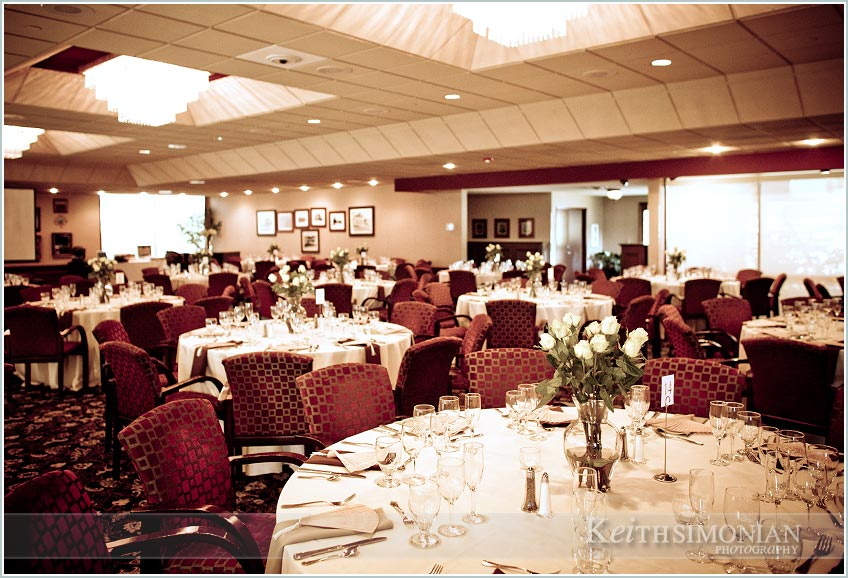 Flowers On Every Table With Seating For 240 Guests Bride S Wedding Day Bouquet Open Bar Your At The San Jose Country Club