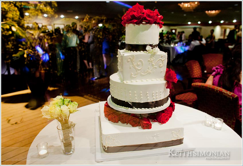 Plenty Of Wedding Cake For All The Guests