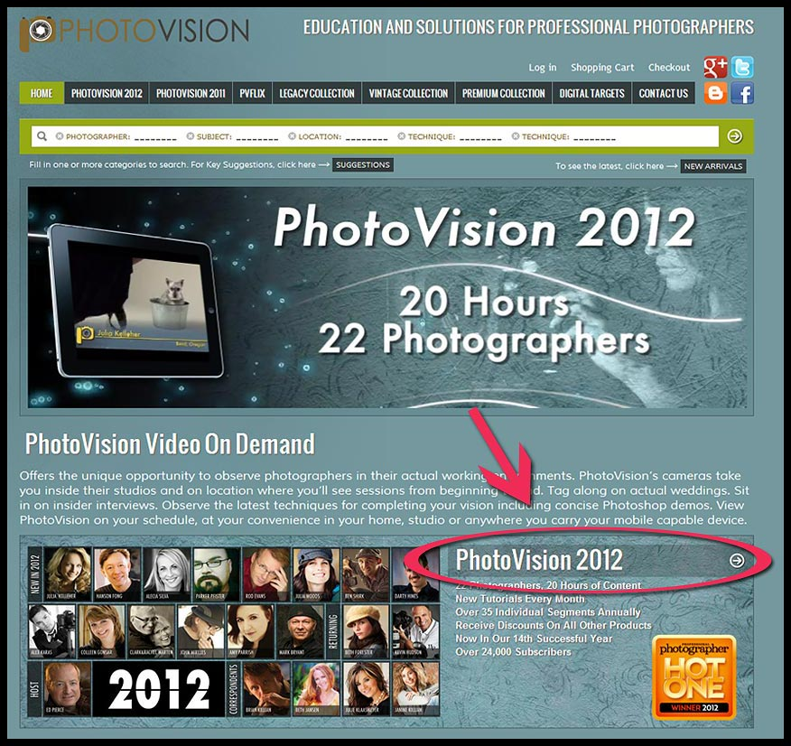 Promo code for one hundred and fifty dollars of savings on 2012 photovision dvds - Step ONE
