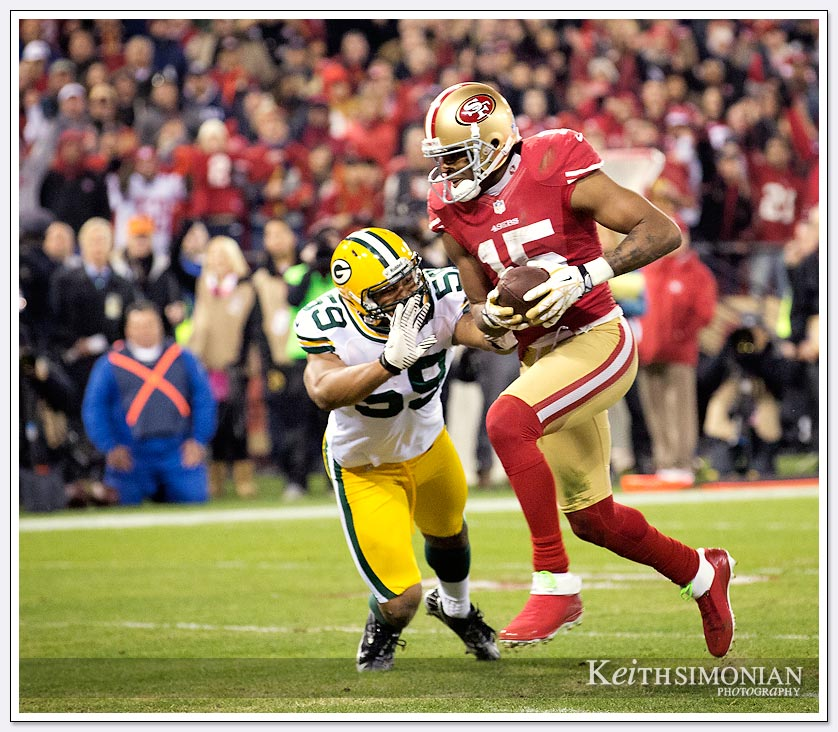 San Francisco 49er #15 Michael Crabtree