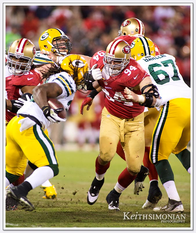 49er Defensive Tackle Justin Smith