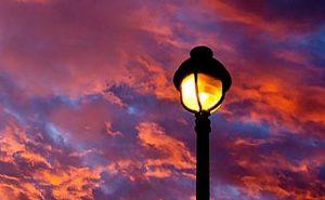 Halloween Sunrise with Amazing Colors