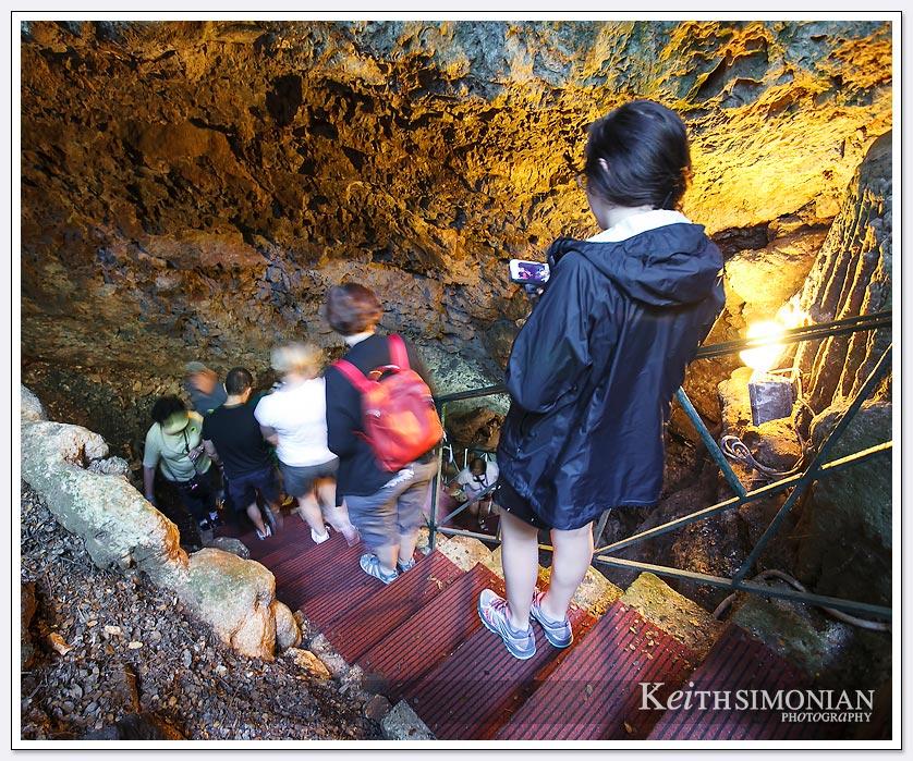 Steps to Drogarati Cave