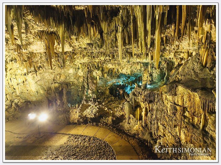 Inside the Drogarati Cave