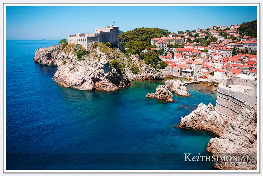 Kings Landing Dubrovnik Croatia where the HBO show Game of Thrones is filmed