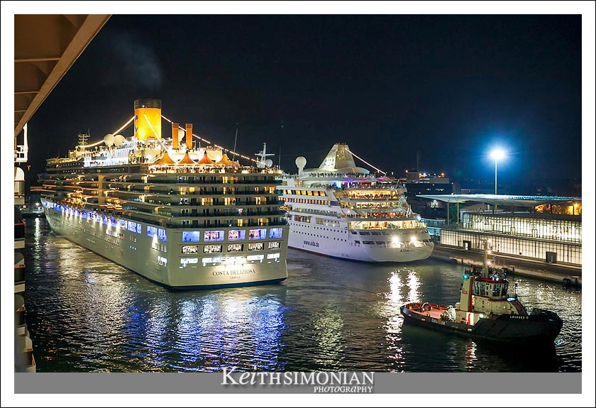 Cruise ship port - Venice Italy