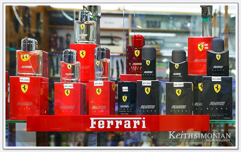 Ferrari cologne for those who love the smell of motor racing