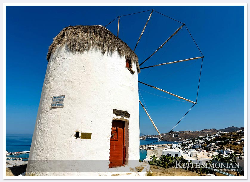 16th century windmill built by the Venetians - Mykonos, Greece