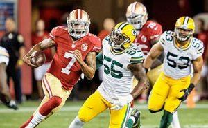 San Francisco 49ers quarterback Colin Kapernick