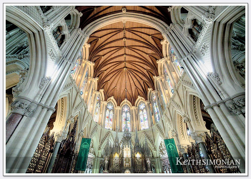 Interior photo of St. Coleman's church - Cobh, Ireland